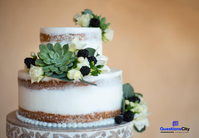 When Did The Wedding Cake Originate
