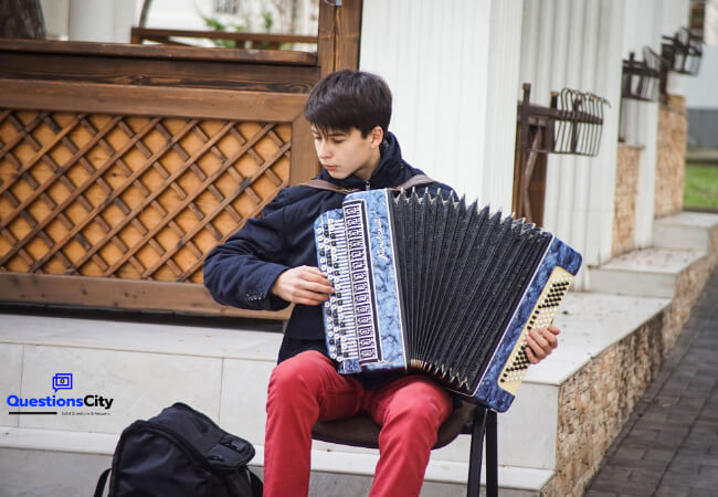 Who Invented The Accordion